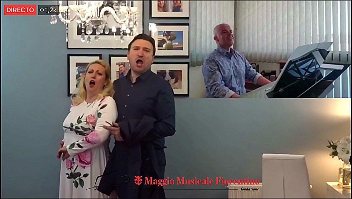 El Maggio Musicale de Florència va regalar una gala lírica per internet