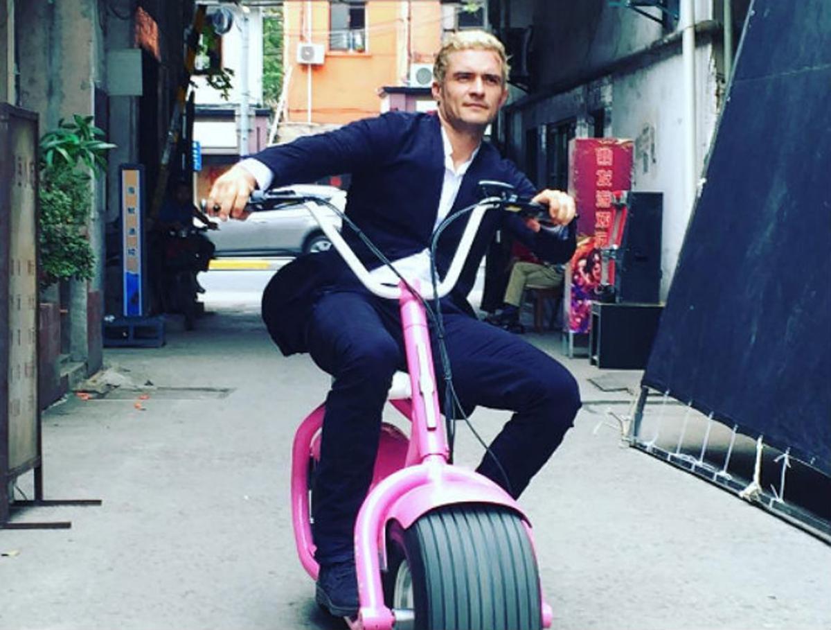 Una de las fotos recientes que Orlando Bloom ha colgado en su cuenta de Instagram.