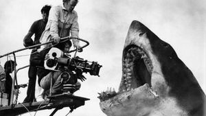 El tiburón mecánico que, por fortuna para la historia del cine, tantos quebraderos de cabeza dio a Spielberg.