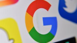 Logotipo de una de los gigantes digitales.