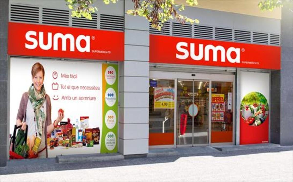 Supermercado 8Establecimiento Suma, del Grupo Miquel.