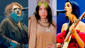 Robert Smith (The Cure), Billie Eilish y St. Vincent.