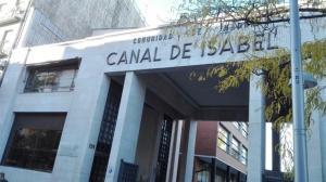 Exterior de la sede del Canal de Isabel II, en Madrid.