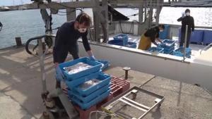 La pesca catalana, pràcticament parada pel coronavirus
