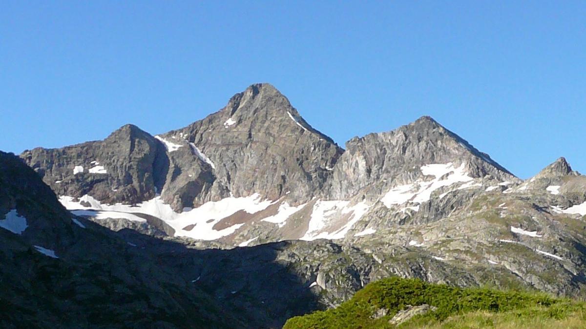 Imagen del Pic d'Arriel, situado en Francia.
