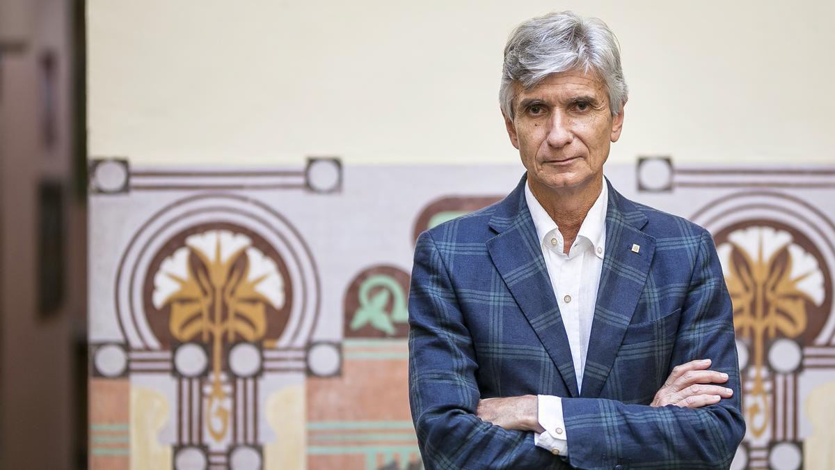 Josep Maria Argimon, 'conseller' de Salut del Govern de la Generalitat