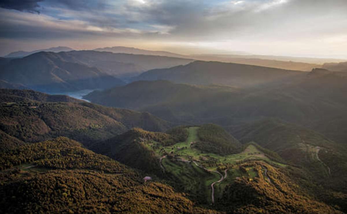 Fotografía del Collsacabra con la que Miquel Pons se ha proclamada vencedor en el Wiki Loves Earth Catalunya.