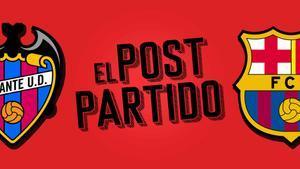 El post partido del Levante - Barça: empate y se acabó.