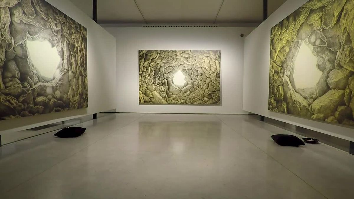 'L'habitació del gra', exposición de Jordi Fulla en el museo Can Framis, en Barcelona.