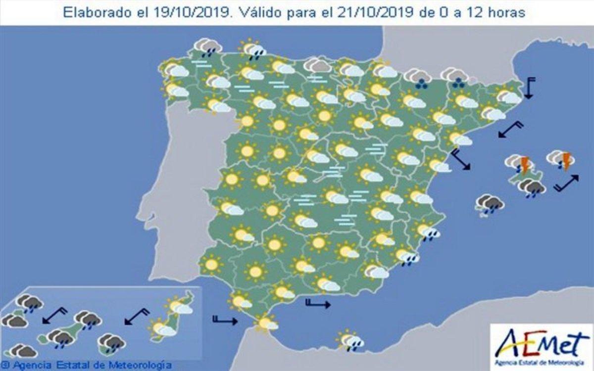 Aemet Pronóstico Del Tiempo En España Hoy 8 De Noviembre De 2019