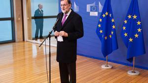 El presidente del Gobierno Mariano Rajoy en la conferencia de alto nivel sobre el Sahel organizada por la Comisión Europea.