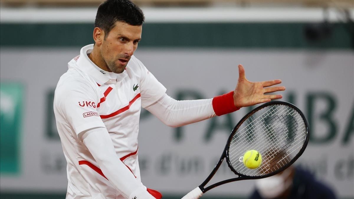 Djokovic se asegura por sexta vez el número 1 mundial