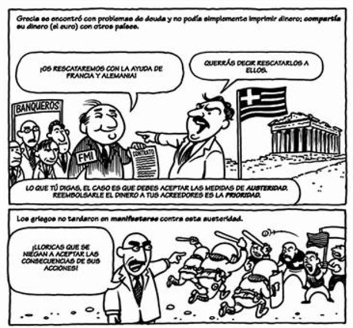 'ECONOMIX' 3 Un revelador cómic que lleva por subtítulo: 'Cómo funciona le economía (y cómo no).