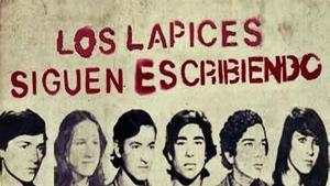Imagen de los estudiantes desaparecidos enLa noche de los lápices enArgentina.