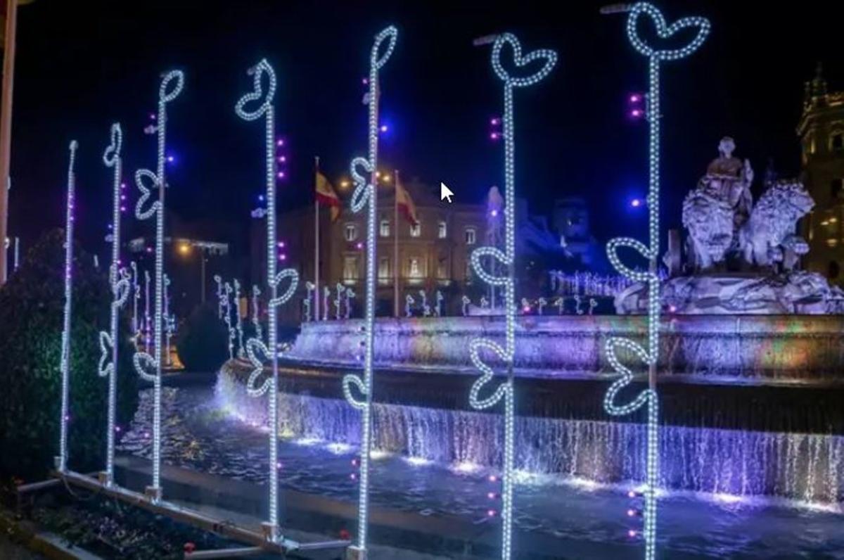 El alumbrado navideño de Madrid se enciende la última semana de noviembre