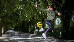 Paola Soldevila «Soc una friki total, miro el futbol des que vaig néixer»