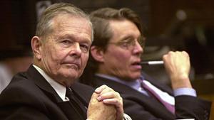 El exsacerdoteJohn Geoghan, en el juicio celebrado contra él por pederastia en Boston, en el 2002.