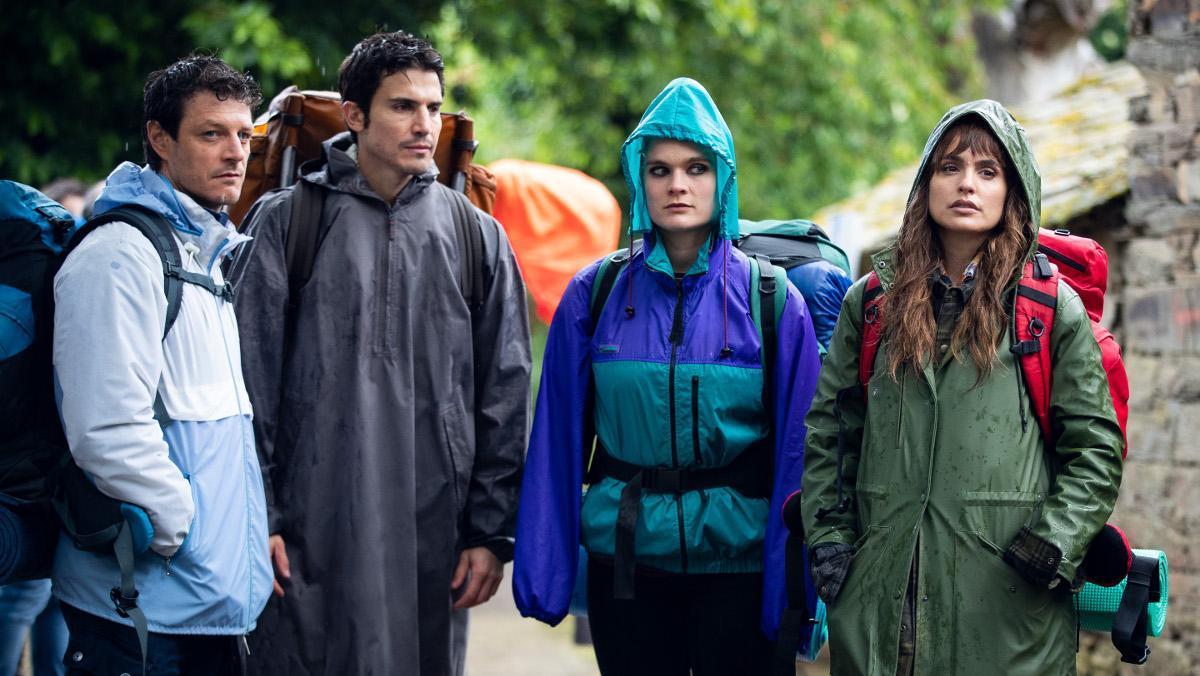 Los actores principales de '3 caminos'.
