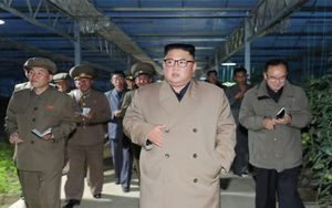 El líder de Corea del Norte, Kim Jong-un.