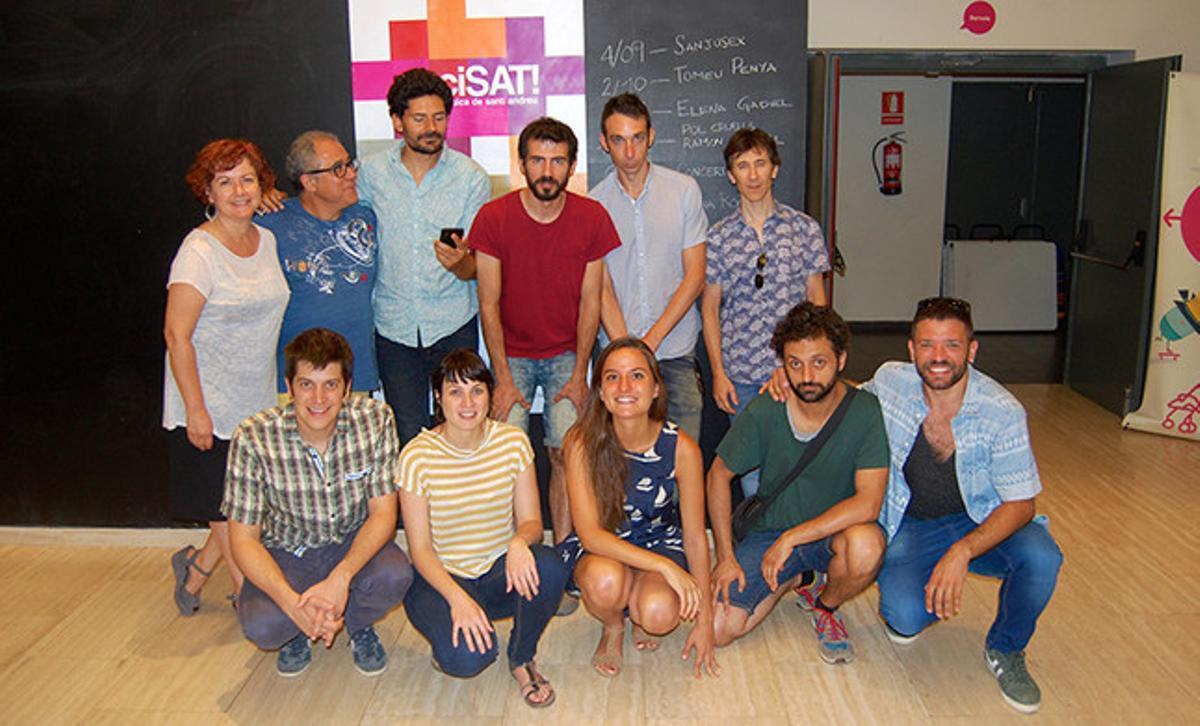 Imagen de algunos de los artistas que participarán en la póxima edición del enciSAT!