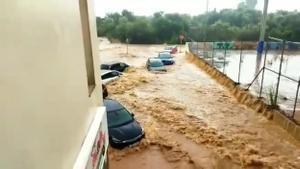 Inundaciones en Alcanar (Tarragona) | Última hora sobre el tiempo en DIRECTO