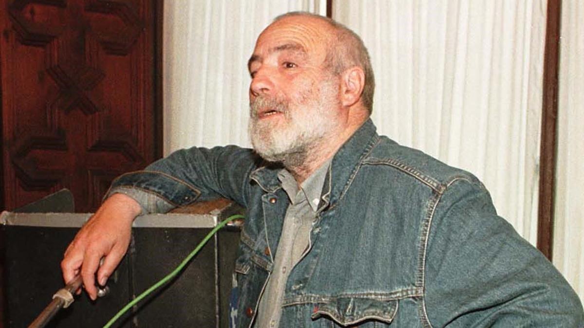 Una imagen de Roberto Bodegas, en 1998.