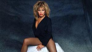 Tina Turner , a mediados de la década de 1980, en su etapa de mayor éxito.