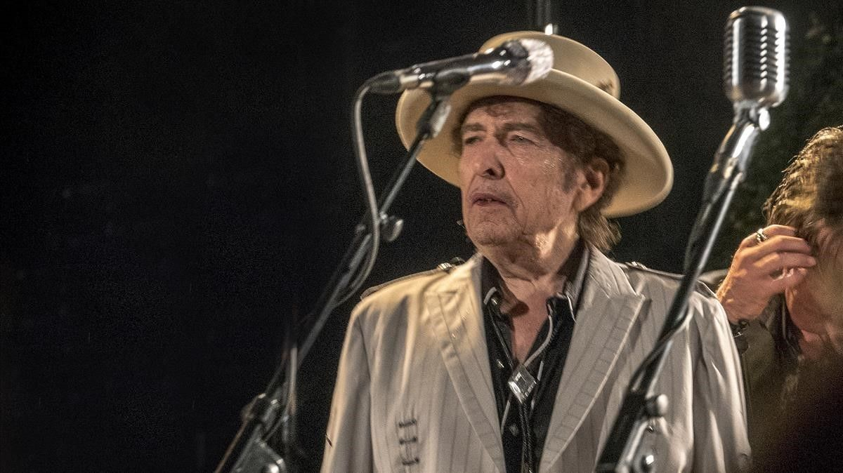 Concierto de Bob Dylan en el Festival Jardins de Pedralbes.