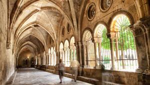 El claustro de la Catedral de Tarragona.