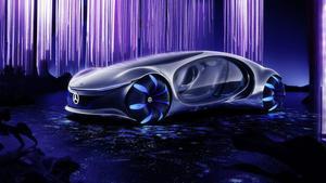 Mercedes-Benz Vision AVTR presentado en el CES de Las Vegas.
