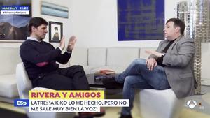 Fran Rivera y Carlos Latre.