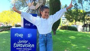 Soleá, hija de El Farru y sobrina de Farruquito, representante de España en Eurovisión Junior