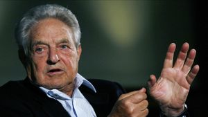 EL muntimilonario y filántropo George Soros.