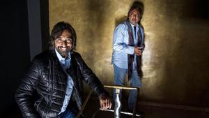 Antonio y Juan José Carmona, fotografiados esta semana en Barcelona