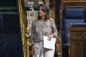 Pleno del Congreso ,en la imagenla Vicepresidenta Cuarta Teresa Ribera y ministra para la Transición Ecológica y el Reto Demográfico.