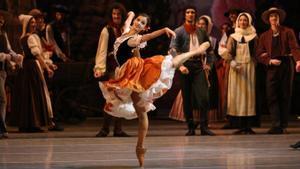 La bailarina rusa Maria Khoreva, en 'Paquita'