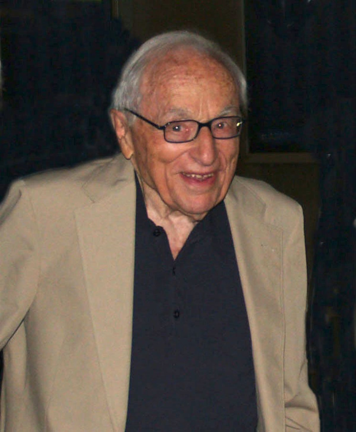 El guionista neoyorquino Walter Berstein