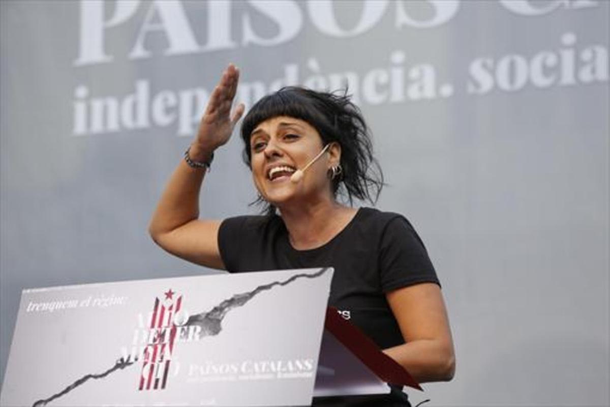 Anna Gabriel, exdiputada de la CUP.
