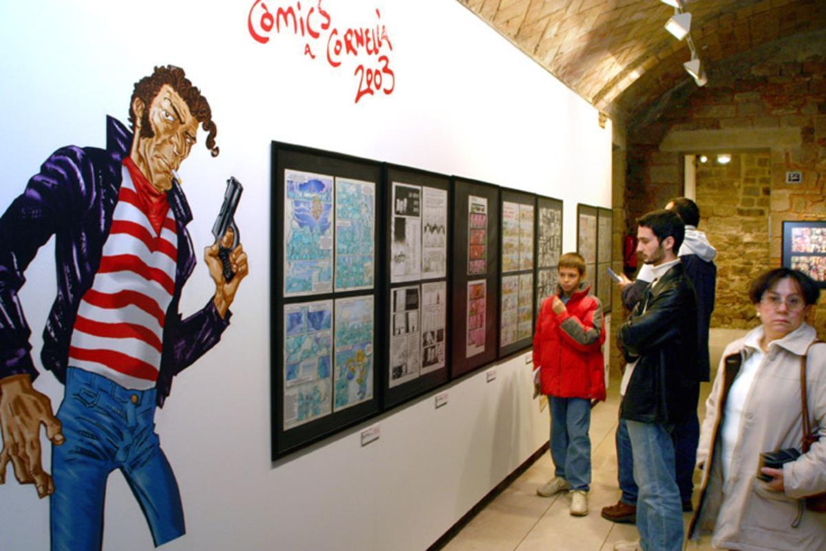 Cornellà acoge este año la 34ª edición del tradicional Concurso de Cómics de la ciudad