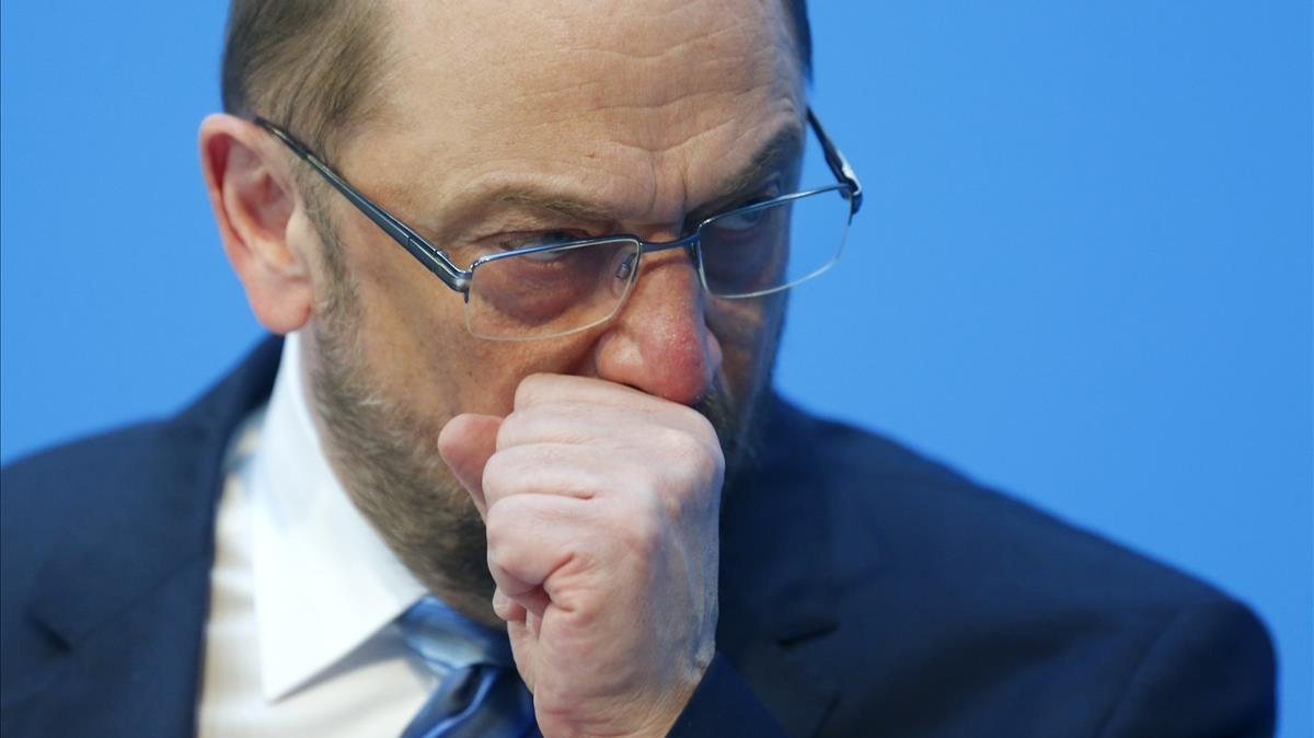 El líder socialdemócrata alemán,Martin Schulz.
