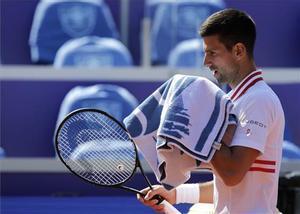 Djokovic, en el torneo de Belgrado.