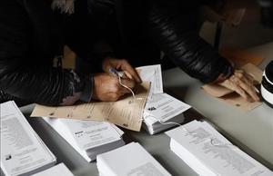 Ambiente electoral en las elecciones generales del 10-N del 2019.