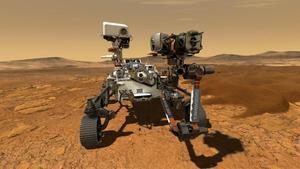 'Perseverance', en un retrato antes de partir a Marte: una tonelada de peso y más de dos metros de altura.