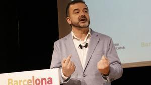 El candidato de ERC a la alcaldía de Barcelona para el 2019, Alfred Bosch.