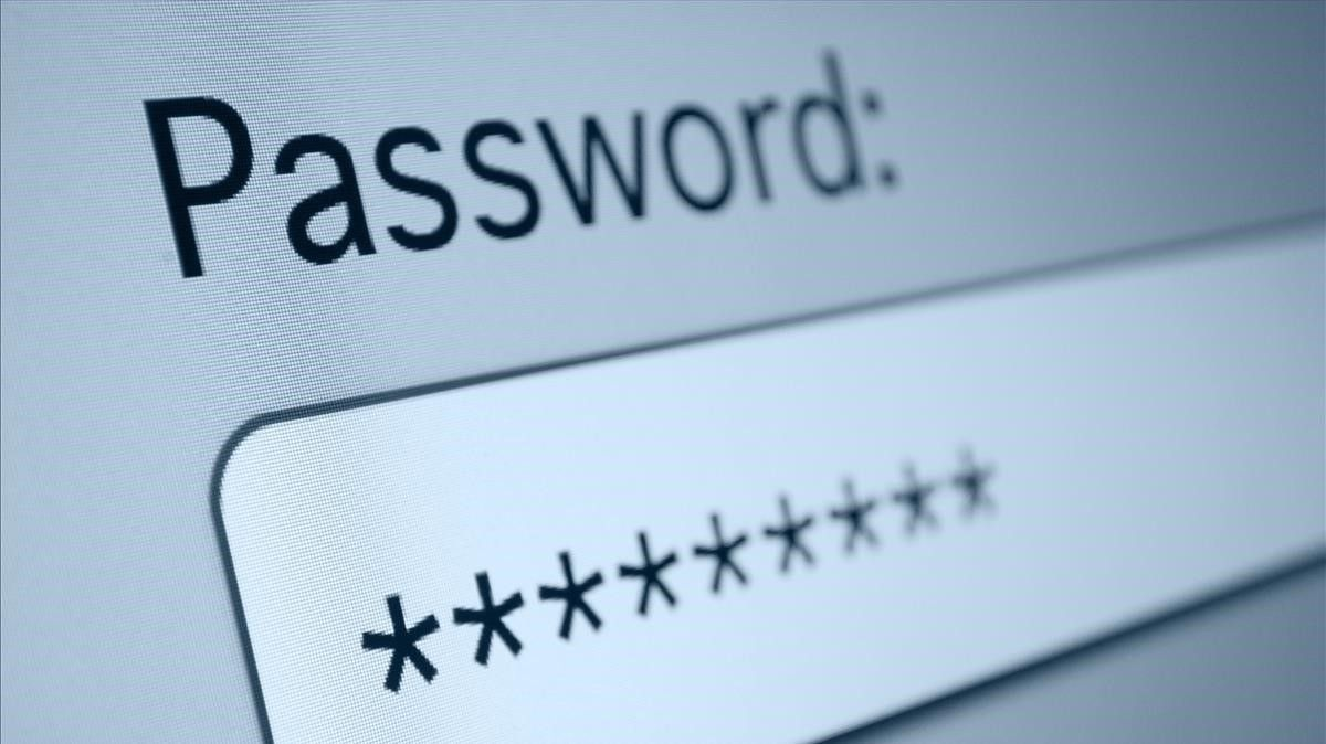 Contraseña de internet para proteger datos personales.