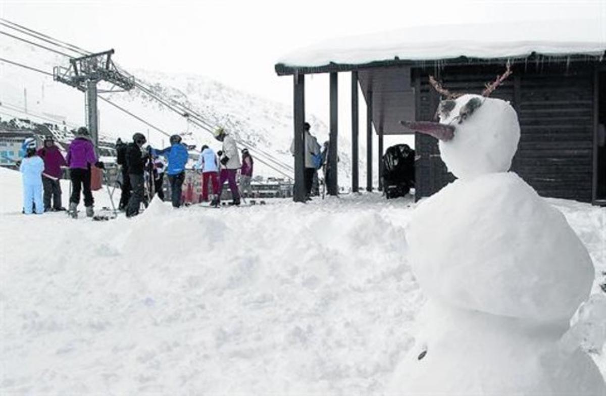 Esquiadores en la estación de Grandvalira.