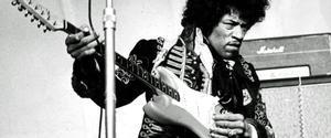 Hendrix, como Moisés en el mar Rojo
