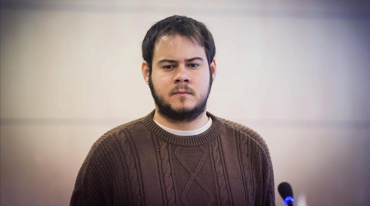 El rapero Pablo Hasel.