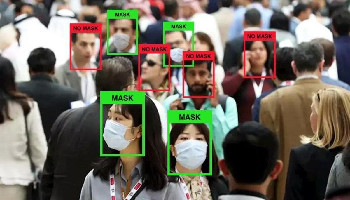 LogMask, la nueva tecnología que permite detectar quién lleva mascarilla y quién no.