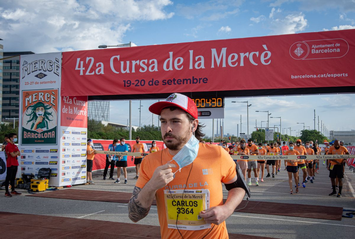 Una imagen de la carrera barcelonesa el año 2020